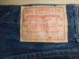 Mens-502-XX-0117-BIG-E-Vintage-1966-1968-Original-Levi-Jeans-Raw-Denim-Selvedge