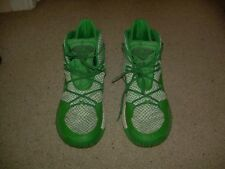 on sale 0d29c 5448c Adidas Green White Geofit Crazy Explosive Basketball Sneakers Shoes 12 M EUC