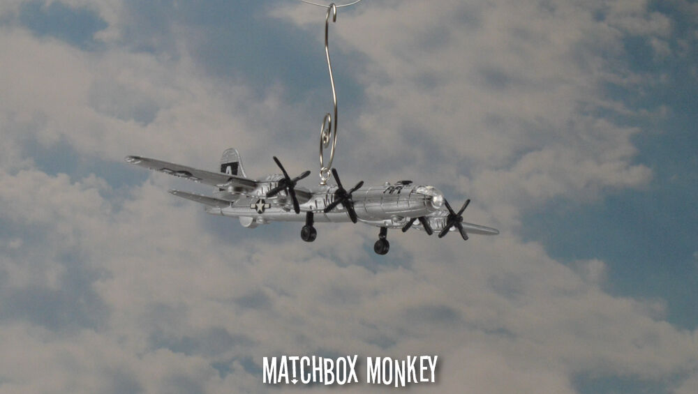 Boeing B-29 Superfortress WWII Christmas Ornament Airplane USAF B29 B 29 Bomber