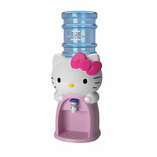 HELLO KITTY KIDS MINI WATER BEVERAGE DRINK DISPENSER DISPENSES 8 GLASSES NEW
