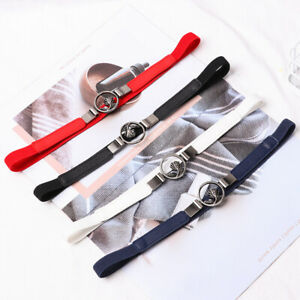 Graceful-Thin-PU-Leather-Adjustable-Belt-Elastic-Waistband-Thin-Waist-Belt