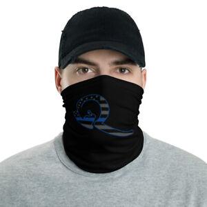 QAnon Facemask WWG1WGA White Rabbit Thin Line Blue Flag ...