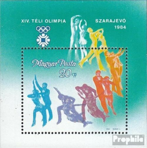 Hungary Block169A complete issue unmounted mint never hinged 1983 Olympics W