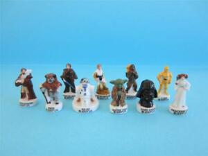RETIRED-MINIATURE-PORCELAIN-THE-STAR-WARS-COLLECTION-SET-HARD-TO-FIND-MINT