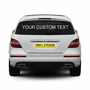 2-x-Personalised-Rear-Window-Car-Stickers-Custom-Vinyl-Name-Lettering-Decals