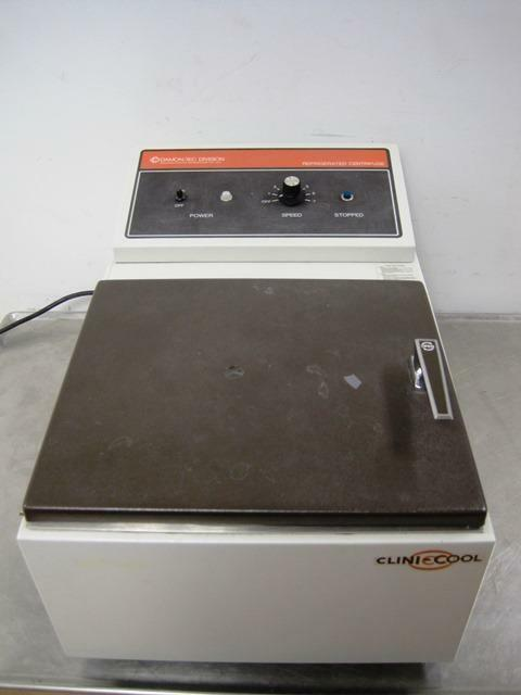 Damon Iec Clinic Cool 2370 Refrigerated Centrifuge Tabletop 215 4 Bucket Rotor For Online Ebay