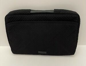 Vera-Bradley-Iconic-Laptop-Organizer-Bag-Case-in-Classic-Black-NWT-MSRP-70