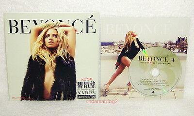 Beyonce 4 Run The World (Girls) Taiwan Promo Remix CD 886296068685 | eBay