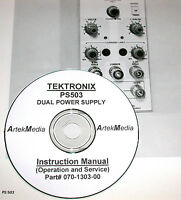 Tek Ps503 Instruction Manual (operating & Service)