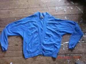 Humour Vintage 1980 S 100% Coton Jersey Cardigan Taille 10-12 1 Propriétaire Fantastique Qualité-afficher Le Titre D'origine