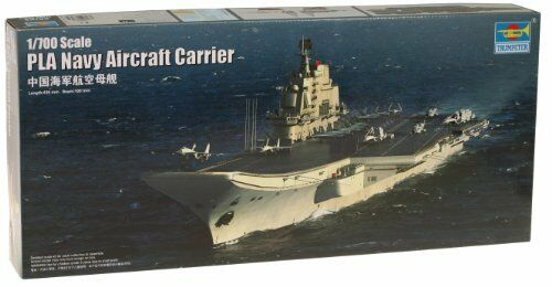 PLA Navy Aircraft Carrier ''Shi Lang'' 2012 Aircraft Carrier 1:700 Model