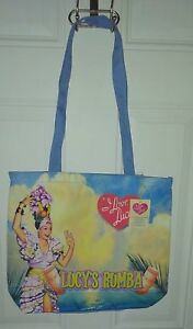 New I Love Lucy Authentic Vintage Rumba Large Tote Bag