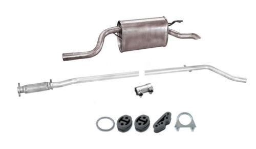 188/_ 1.2 60PS bis 09//2005 Abgasanlage Auspuffanlage Auspuff Fiat Punto Kit