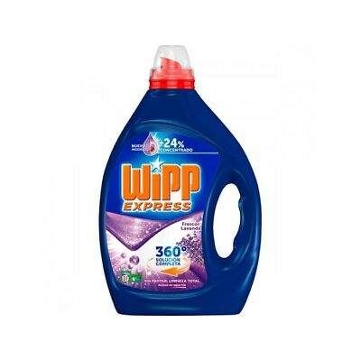 Wipp Detergente Gel Activo Lavanda 1.5L (31 Dosis)