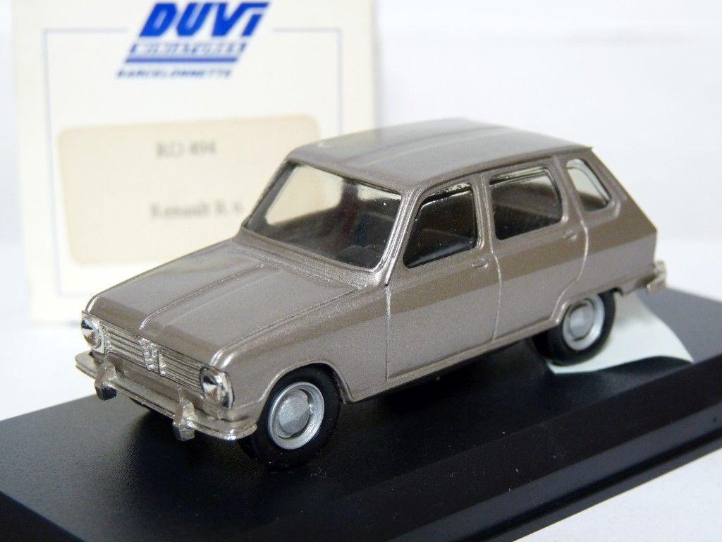 DUVI RO494 1 43 RENAULT 6 résine fait main modèle voiture