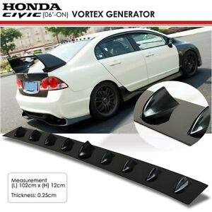 New jdm honda civic 8th gen 06 on glossy black vortex generator image is loading new jdm honda civic 8th gen 06 on publicscrutiny Image collections