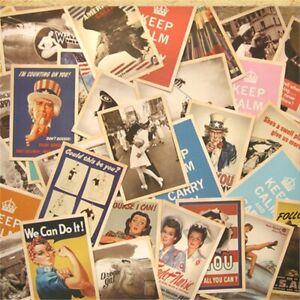 32pcs-Vintage-Postcards-Old-Greeting-European-American-Photo-Poster-Retro-Cards