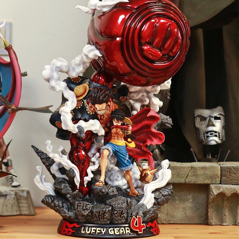 F3 Studio Monkey D Luffy Figure Gear quatrième Ver.  Big fist GK Modèle Pré Comhommede  qualité officielle