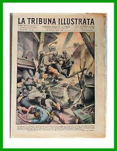 1942-42-TRIBUNA-ILLUSTRATA-WWII-Battaglia-a-STALINGRADO-Pattuglia-su-fiume-DON