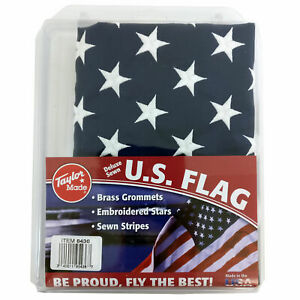"""Taylor Made 8436 United States 50-Star Flag 24/"""" x 36/"""" Deluxe Sewn Marine Boat"""