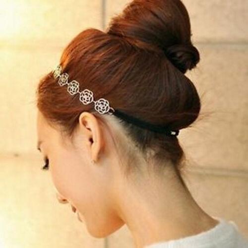Haarband Metallband Stirnband Headband Hairband Haarschmuck Metall goldfarben