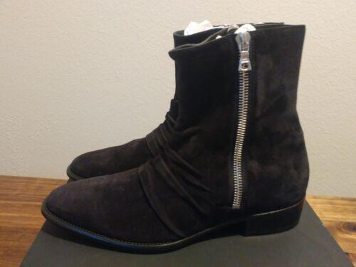 Us Amiri Eu 11 Sz Skinny botas 44 ante cuero negras de de 4ZA4gqa