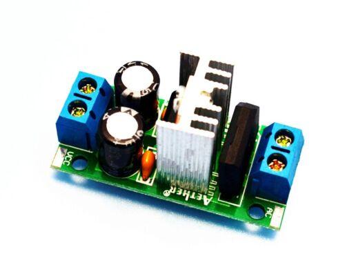 Nouveau LM7809 L7809 régulateur module d/'alimentation 9 V 1.5 A Redresseur de puissance
