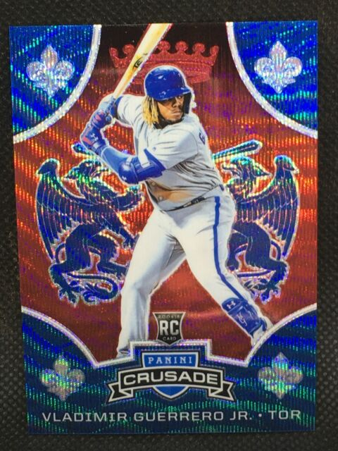 #/199! 🚨2019 Crusade Ruby Vladimir Guerrero Jr RC Blue Jays Rookie Card #21