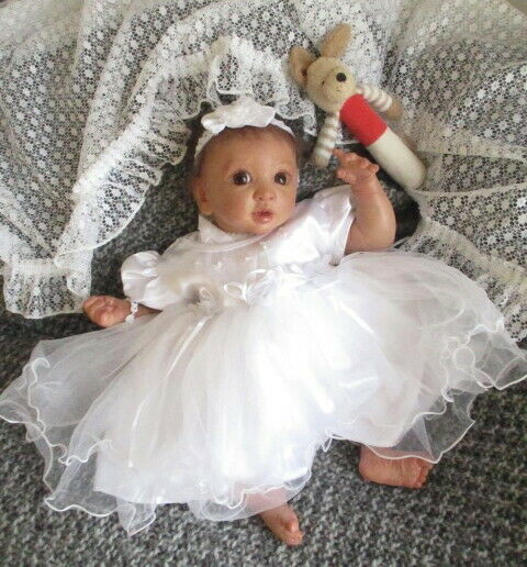 ♥Süßes Reborn ReallifeBaby Layla♥Neuer BS Andrea Arcello ♥ so süß,wie echt♥
