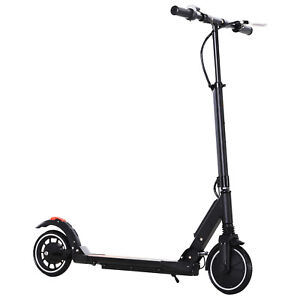 HOMCOM-Trottinette-Electrique-Pliable-Vitesse-Reglable-10-15-25-Km-h-Indicateur