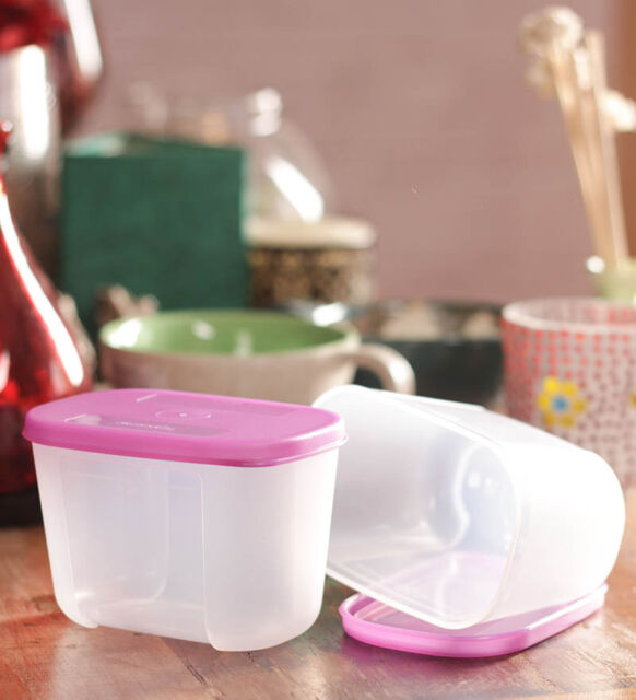 TUPPERWARE Freezer Mate Mini - Set of 2 Containers 300 ml - NEW - Free Shipping