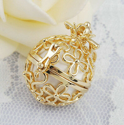 3pcs Pregnancy gift pendant harmony ball pendant with necklace 18k gold jewelry