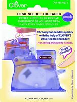 Clover Desk Needle Threader, Purple , New, Free Shipping on sale