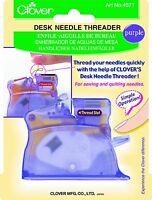 Clover Desk Needle Threader, Purple , New, Free Shipping on sale