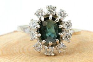 2-00ct-Saphir-Diamant-Gold-Ring-585-14K-Weissgold-10-Brillanten-ca-0-80ct-VS1-H