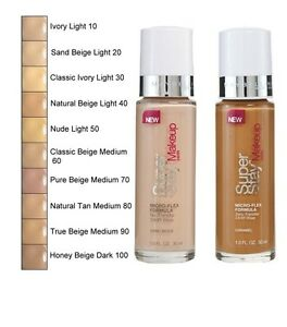 MAYBELLINE SUPERSTAY 24 HR FOUNDATION MAKEUP NEW PLEASE SELECT ...