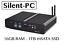 SILENT-PC-senza-ventole-silenziose-Mini-HTPC-IPTV-computer-desktop-Intel-Core-i7-5500u miniatura 11