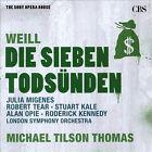 Weill: Die Sieben Todsnden; Kleine Dreigroschenmusik (CD, Jan-2012, CBS)