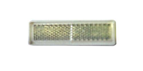 4x catadioptre Blanc Réflecteur 69x20x6 mm auto-adhésif Remorque chat Set