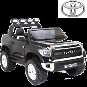 Voiture Électrique Enfant Toyota Tundra Noire 12v 2x45 Watts 2 Places