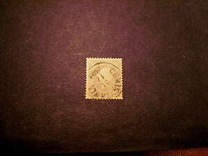 Norway Stamp Scott# 3 King Oscar I 1857 C354