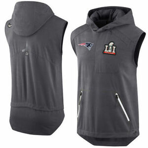 9ace4e62a New England Patriots Super Bowl 51 Media Day XL Vest - Limited ...