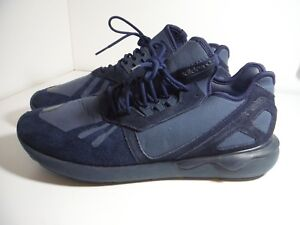 premium selection 14965 17dff ... aliexpress image is loading adidas tubular runner midnight indigo navy  blue triple add20 d7471