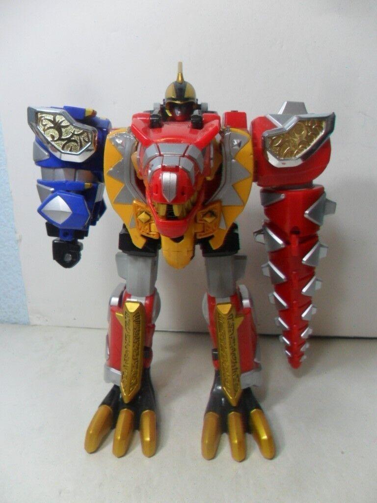 Mighty Morpher Power Rangers Dino thunder Thundersaurus Megazord  2