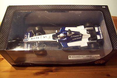 1/18 Williams F1 Bmw Fw23 Juan Pablo Montoya 2001 Sarà-mostra Il Titolo Originale Alleviare Il Caldo E Il Colpo Di Sole