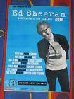 ED SHEERAN - 2018 AUSTRALIA NZ TOUR - LAMINATED PROMO TOUR POSTER