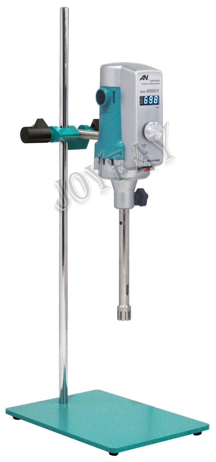 High Shear Mixer Homogenizer Disperser AD500S-H Digital 200028000 rpm SS316