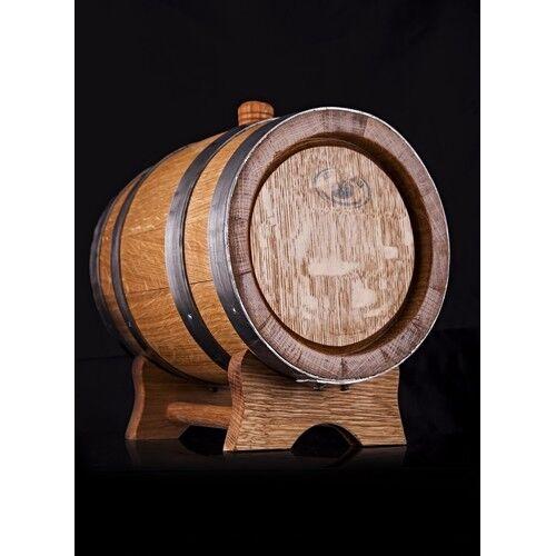 Weinfass Holzfass mit Hahn Schnapsfass Whiskyfass mit Bock Fass Barrique 4L