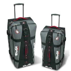 Bopgi-Bag-Reisetaschen-Set-schwarz-Reisetrolley-L-XL-Koffer-mit-2-Rollen