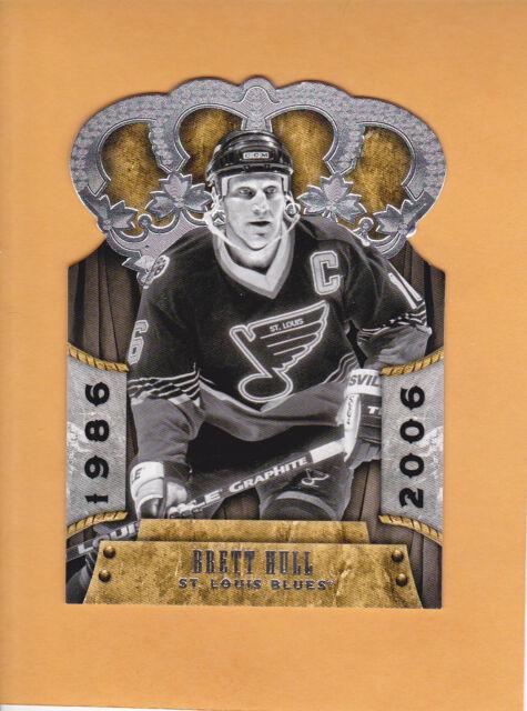 2011 12 CROWN ROYALE # 104 BRETT HULL ST LOUIS BLUES ** FREE SHIPPING **